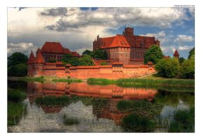 The Malbork Castle by iciatko