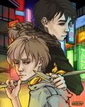 durarara!! - someone who looked over his shoulder by weiview