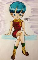 Bulma-sannn (YUSSS finally finished xD) by dbz-senpai
