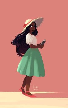 Connie from Steven Universe by TetraOrb