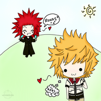 Roxas, I have Ice cream X3 by WINGEDLESS