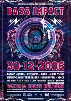 Bass Impact Poster by ruudvaneijk