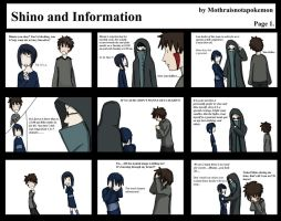 journal-Shino and Information by mothraisnotapokemon