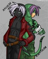Ansem and Random by geN8hedgehog
