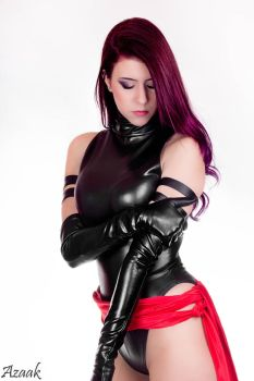 Psylocke Cosplay - Marianne Black by Azaak