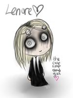 Lenore The Cute Little Dead Girl c: by Kitzophrenic