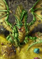 The Green Dragon by DOUGLASDRACO