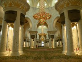 Sheik Zayed Mosque by keziakos