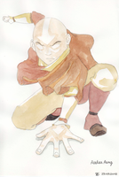 Avatar Aang by Pivz