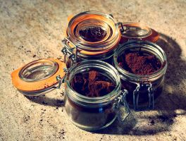 Jar of Coffee by Ilman-Lintu