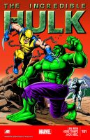 Wolverine 40th Anniversary Edition Hulk 181 2014 by jovigolf