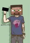 Mine Craft Man by Homicidal-Pixels