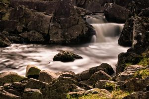 Dolmelynllyn Lower waterfall by CharmingPhotography
