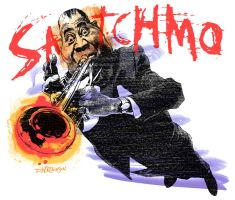 Satchmo by wooden-horse