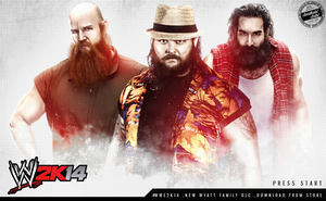 WWE 2K14 LOADING SCREEN WYAT FAMILY by T1beeties