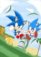 . Sonic Generations . by SonicSpeedz