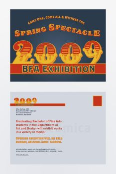 Spring Spectacle: Mailer by at0mica