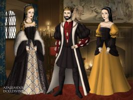 Francis I and his mistresses by TFfan234