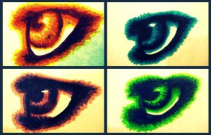 Eye Collage by wolfycatlover38