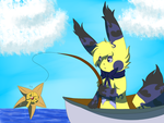 RS - Fishing Contest by ExoticStarlight