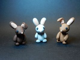 Rabbits. by Snowifer