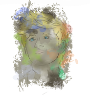 Niall Horan Splatter by HannahLouLou
