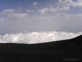 Etna - I was still higher up of the clouds by Tazunee