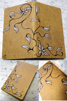 Moleskine Cover - Ivy Blossom by eagle-elf