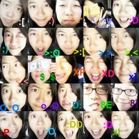 The Many Faces of Christine by chloh