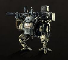 Mech Concept by Kubaboom