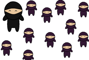 Ninjas by pennycoin