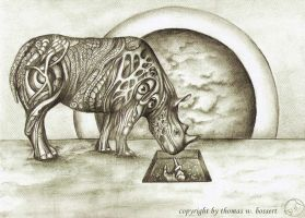 surrealrhino by thomasbossert