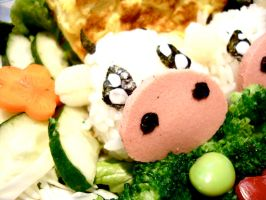 Bento - Sweetheart Moos by p3titexburial
