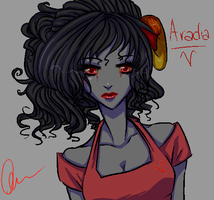 Aradia: I miss you Sollux... by curiousSOUL