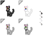 Cat Cursors by MikariStar