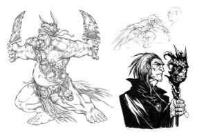 Orc and other random stuff by yjianlong