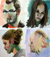 Portrait Studies by Lialun
