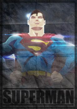 POSTER SUPERMAN by herobaka