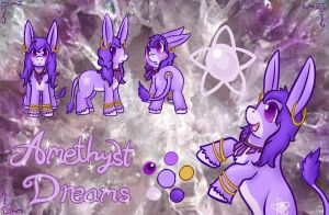 Amethyst Dreams Reference by AstraIKitsune
