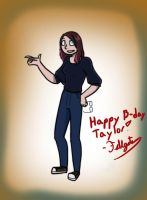 Happy B-day Taylor! by FableWing