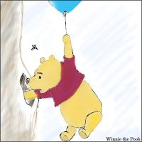Winnie the Pooh for Patchwork by pirate-LD