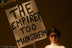 Hipster Leia - Too Cool for the Empire by Sheikahchica