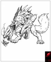 Commission Concept: Neo Cerberus by Gabe-TKE