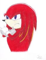 Knuckles the Echidna by jmdv12