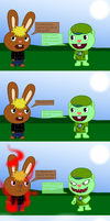 arrogant soldier -comic- by Wopter