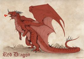 Red Dragon by etrii