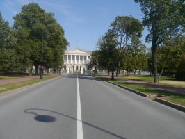 Road to the Smolny Institute by Party9999999