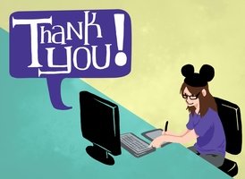thank you by peguin-pirate