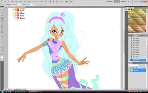 WIP - Eleana  Harmonix by Natalia-Enchantix