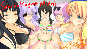 Senran Kagura models upgraded by Sowlow